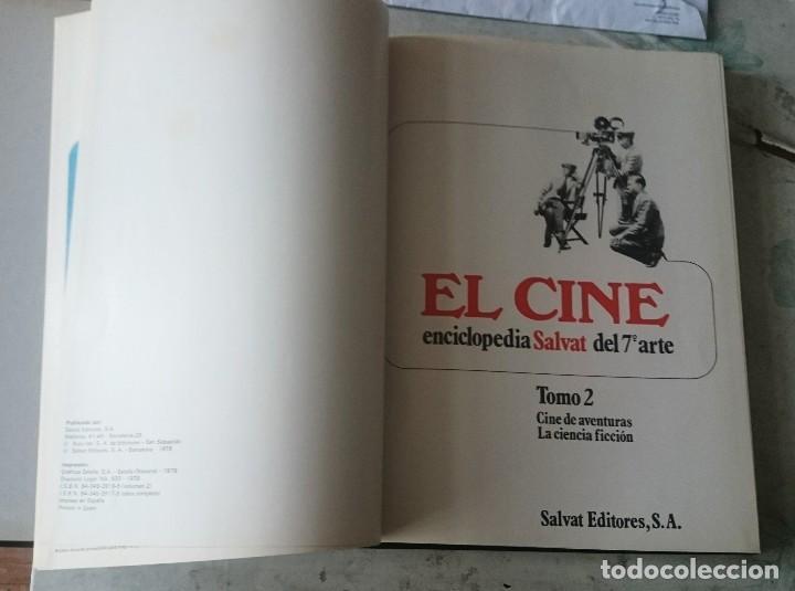 Libros de segunda mano: El cine. Enciclopedia Salvat del séptimo arte. Tomo 2. Cine de aventuras. La ciencia ficción - Foto 2 - 123295791