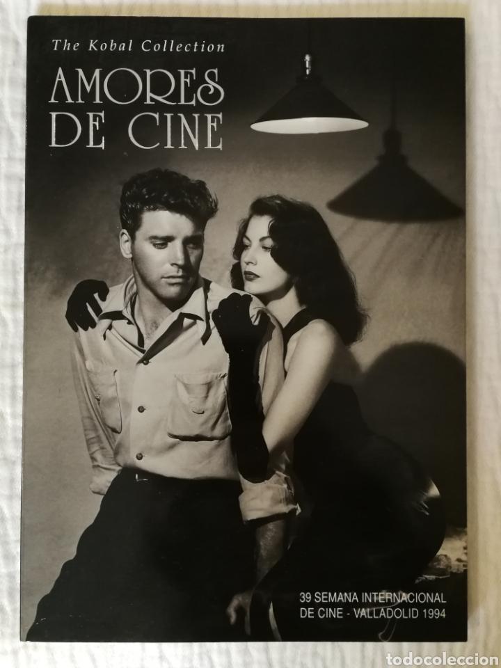 AMORES DE CINE THE KOBAL COLLECTION 39 SEMANA INTERNACIONAL DE CINE DE VALLADOLID 1994 (Libros de Segunda Mano - Bellas artes, ocio y coleccionismo - Cine)