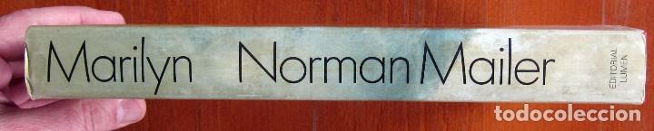 Libros de segunda mano: NORMAN MAILER - MARILYN MONROE, UNA BIOGRAFIA - LUMEN 1974 - Foto 2 - 124205783