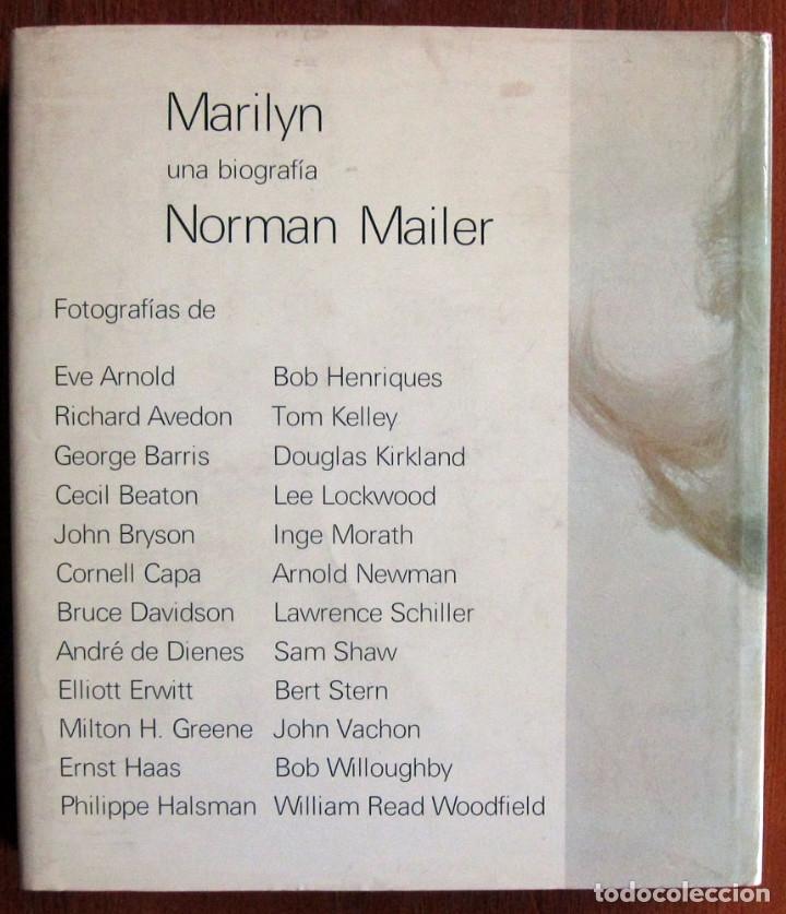 Libros de segunda mano: NORMAN MAILER - MARILYN MONROE, UNA BIOGRAFIA - LUMEN 1974 - Foto 3 - 124205783