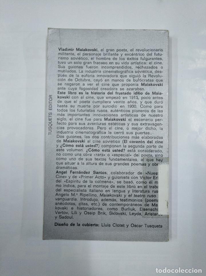 Libros de segunda mano: MAIAKOVSKI Y EL CINE. - FERNÁNDEZ SANTOS, ÁNGEL. CUADERNOS INFIMOS Nº 54. TDK264 - Foto 2 - 125026367