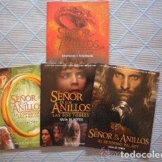 Libros de segunda mano: EL SEÑOR DE LOS ANILLOS, GUÍAS DE FOTOS. Lote 125229631