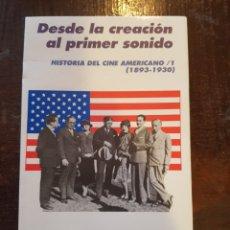 Second hand books - Homero Alsina Thevenet. Historia del cine americano I 1893-1930. Desde la creación al primer sonido - 125368887