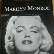Libros de segunda mano: LIBRO MARILYN MONROE, EDITORIAL GLOBUS, CIENTOS DE FOTOS . Lote 125491451