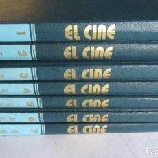 Libros de segunda mano: EL CINE. ENCICLOPEDIA DEL 7º ARTE .7 TOMOS. COMPLETA ED. BURU LAN 1972. TAPA DURA, SIMIL PIEL. . Lote 125864731