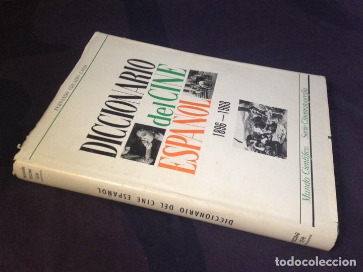 Libros de segunda mano: VIZCAINO CASAS, FERNANDO. DICCIONARIO DEL CINE ESPAÑOL, 1896-1968. DEDICATORIA AUTOR - Foto 3 - 126141972