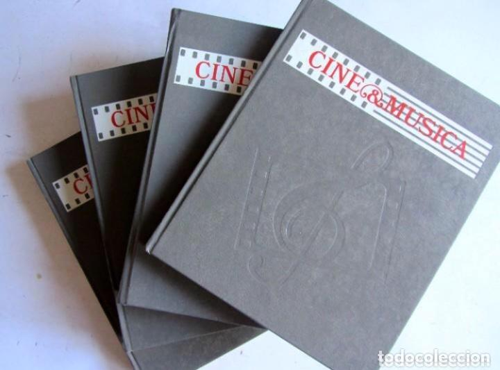 CINE & MÚSICA. LAS OBRAS MAESTRAS DEL CINE. SALVAT. COMPLETO. LA MUSICA EN EL CINE CINE & MÚSICA. (Libros de Segunda Mano - Bellas artes, ocio y coleccionismo - Cine)