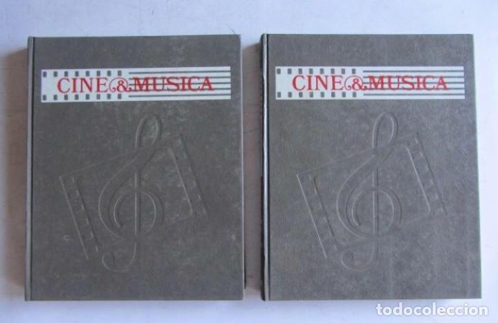 Libros de segunda mano: Cine & Música. Las obras maestras del cine. Salvat. Completo. LA MUSICA EN EL CINE Cine & Música. - Foto 2 - 126179083