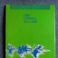 Libros de segunda mano: CINE ESPAÑOL 1975 - 1984. EDITA AULA DE CINE DE MURCIA. 1985.. Lote 126354987