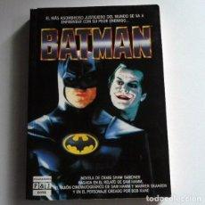 Libros de segunda mano: BATMAN - NOVELA GRAIG SHAW GARDNER BASADA GUIÓN CINE D SAM HAMM - PERSONAJE DE CÓMIC - LIBRO AÑOS 80. Lote 126910851