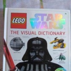 Libros de segunda mano: LEGO STAR WARS. THE VISUAL DICTIONARY.. Lote 127199499
