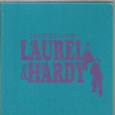 Libros de segunda mano: LAS PELICULAS DE STAN LAUREL & OLIVER HARDY. RBA. Lote 128097267