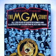 Libros de segunda mano: THE COMPLETE HISTORY OF FIFTY ROARING YEARS THE MGM STORY. JOHN DOUGLAS EAMES ALL 1705 FILMS OF MET. Lote 128590275