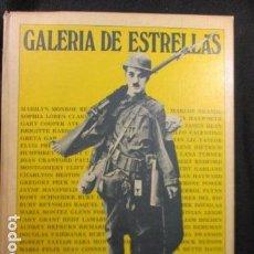 Libros de segunda mano: GALERIA DE ESTRELLAS. LA HISTORIA DEL CINE A TRAVÉS DE SUS MEJORES POSTERS. EDC. URBIÓN.. Lote 128824103