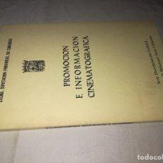 Libros de segunda mano: CAMPAÑA DE PROMOCION CINEMATOGRAFICA-ALBERTO SÁNCHEZ DIPUTACIÓN PROVINCIAL-1980 EDITORIAL HERALDO DE. Lote 129022143