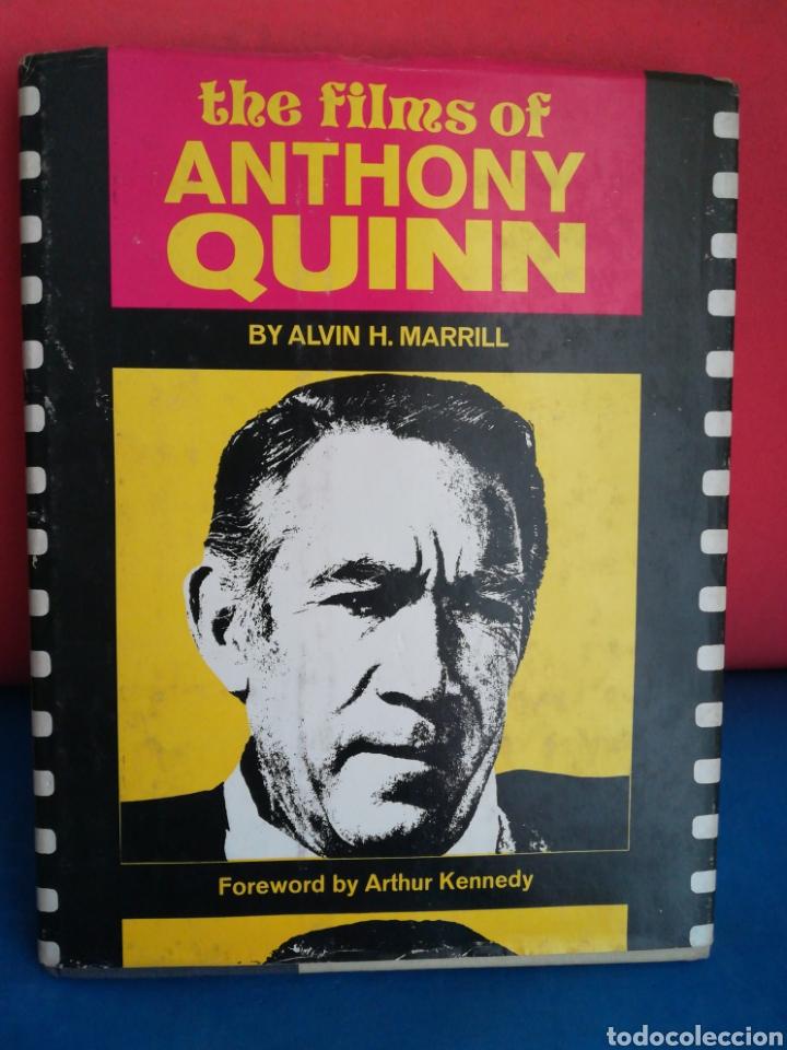THE FILMS OF ANTHONY QUINN - ALVIN H. MARRILL - CITADEL PRESS, 1975 (INGLÉS) (Libros de Segunda Mano - Bellas artes, ocio y coleccionismo - Cine)