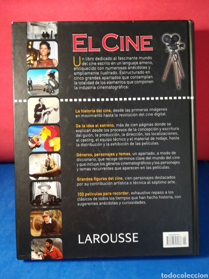 Libros de segunda mano: El Cine - Larousse, 2003 - Foto 3 - 129958646