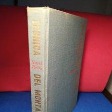 Libros de segunda mano: TÉCNICA DEL MONTAJE - KAREL REISZ - TAURUS, 1966. Lote 129980726