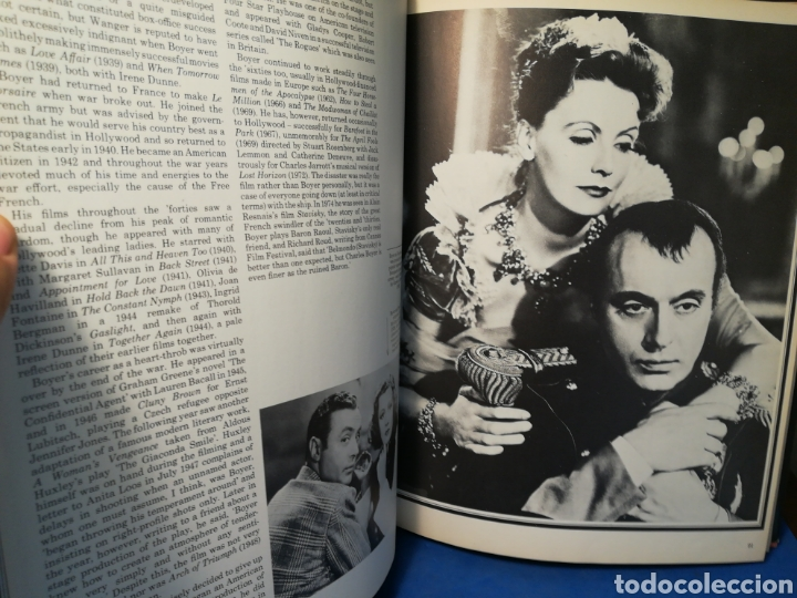 Libros de segunda mano: Great lovers of the movies - Grandes amantes del cine - Jane Mercer - Hamlyn, 1975 - Foto 8 - 130050907
