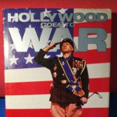 Libros de segunda mano: HOLLYWOOD GOES TO WAR - EDWARD F. DOBLAN JR. - BISON A BOOKS, 1987 (INGLÉS). Lote 130176767