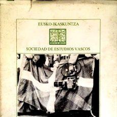 Libros de segunda mano: EL CINE Y LOS VASCOS. JOSÉ MARIA UNSAIN.. Lote 130188219