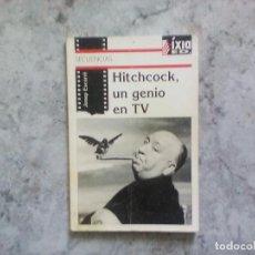 Libros de segunda mano: HITCHCOCK, UN GENIO EN TV. JOSEP ESCARRÉ.. Lote 130335910