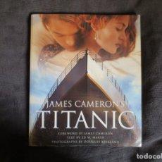 Libros de segunda mano: TITANIC LIBRO SOBRE LA PELICULA, CON MUCHAS FOTOS DEL RODAJE, EN INGLES. Lote 131101588