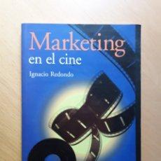 Livros em segunda mão: MARKETING EN EL CINE. IGNACIO REDONDO. Lote 132100061