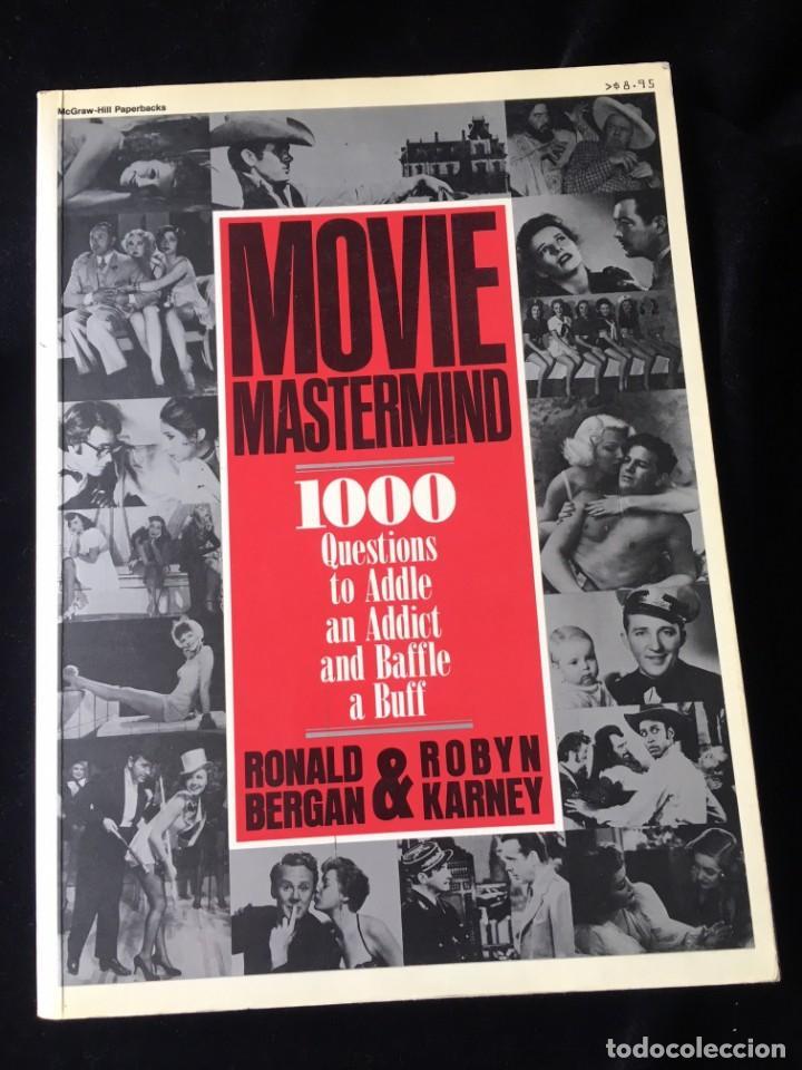 CINE. MOVIE MASTERMIND - RONALD BERGAN & ROBYN KARNEY (Libros de Segunda Mano - Bellas artes, ocio y coleccionismo - Cine)