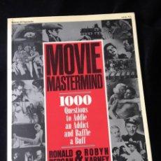 Libros de segunda mano: CINE. MOVIE MASTERMIND - RONALD BERGAN & ROBYN KARNEY. Lote 132153206