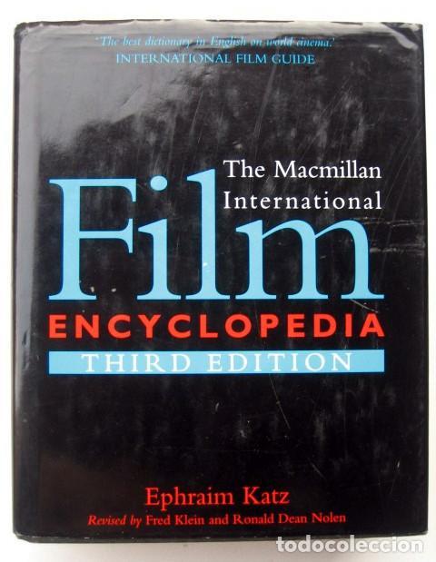THE MACMILLAN INTERNATIONAL FILM ENCYCLOPEDIA. THIRD EDITION (Libros de Segunda Mano - Bellas artes, ocio y coleccionismo - Cine)