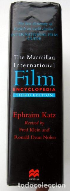 Libros de segunda mano: The Macmillan International Film Encyclopedia. Third Edition - Foto 2 - 132338982