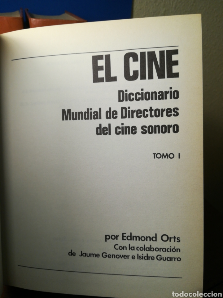 Libros de segunda mano: El Cine - Diccionario Mundial de Directores del Cine Sonoro 3 tomos - Edmond Orts - Mensajero, 1985 - Foto 2 - 133187571