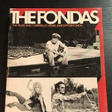 Libros de segunda mano: LIBRO CINE THE FILMS AND CAREERS OF HENRY, JANE & PETER FONDA THE FONDAS. Lote 133415494