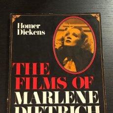 Libros de segunda mano: LIBRO CINE THE FILMS OF MARLENE DIETRICH. Lote 133415534