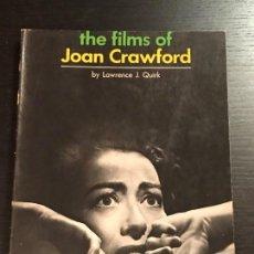 Libros de segunda mano: LIBRO CINE THE FILMS OF JOAN CRAWFORD. Lote 133415558
