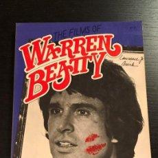 Libros de segunda mano: LIBRO CINE THE FILMS OF WARREN BEATTY. Lote 133415658