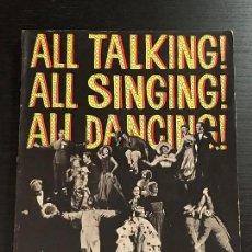 Libros de segunda mano: LIBRO CINE ALL TALKING ALL SINGING ALL DANCING. Lote 133415866