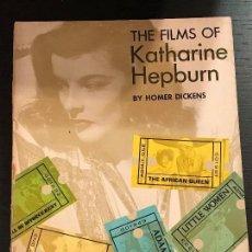 Libros de segunda mano: LIBRO CINE THE FILMS OF KATHARINE HEPBURN. Lote 133513978