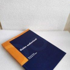 Libros de segunda mano: GUIÓN AUDIOVISUAL DANIEL ARANDA JUÁREZ FERNANDO DE FELIPE EDITORIA UDC SIN LEER. Lote 133723934