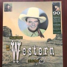 Libros de segunda mano: LIBRO:EL WESTERN DE HOLLYWOOD 90 AÑOS DE COWBOYS, INDIOS, BANDIDOS, SHERIFFS Y PISTOLEROS. Lote 134327646