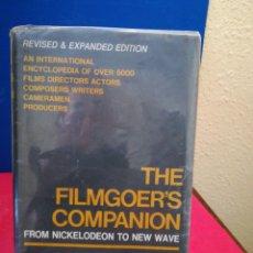 Libros de segunda mano: THE FILMGOER'S COMPANION-LESLIE HALIWELL-HILL & WANG,1967,NEW YORK -PRÓLOGO DE HITHCOCK (INGLÉS). Lote 134395534