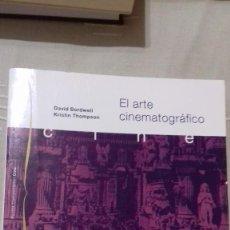 Libros de segunda mano: EL ARTE CINEMATOGRÁFICO. DAVID BORDWELL, KRISTIN THOMPSON. PAIDÓS COMUNICACIÓN CINE, Nº 68, 1995.. Lote 135030258