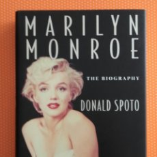 Libros de segunda mano: MARILYN MONROE. THE BIOGRAPHY. DONALD SPOTO. 1993. HARPER COLINS. 698 PÁGINAS . EN INGLÉS.. Lote 135790882