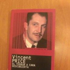 Libros de segunda mano: VINCENT PRICE DE JOSE MANUEL SERRANO CUETO. Lote 135866926