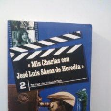 Libros de segunda mano: CHARLAS CON JOSE LUIS SAENZ DE HEREDIA - JUAN JULIO DE ABAJO DE PABLO. Lote 135953354
