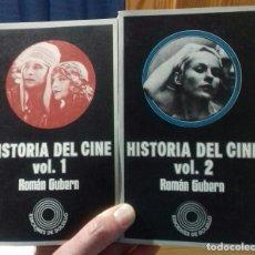Libros de segunda mano: ROMAN GUBERN- HISTORIA DEL CINE VOL.1 & VOL.2. Lote 136028570