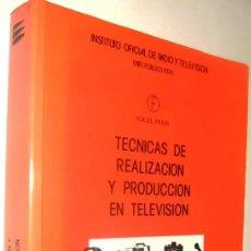 Libros de segunda mano: TECNICAS DE REALIZACION Y PRODUCCION EN TELEVISION - GERALD MILLERSON *. Lote 136366394