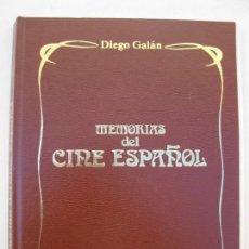 Libros de segunda mano: MEMORIAS DEL CINE ESPAÑOL - DIEGO GALÁN - TOMO COMPLETO CON 25 FASCÍCULOS - TELERADIO - AÑO 1978.. Lote 136373162