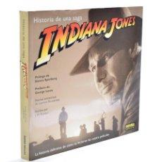 Libros de segunda mano: INDIANA JONES: HISTORIA DE UNA SAGA - RINZLER, J. W.. Lote 136723276